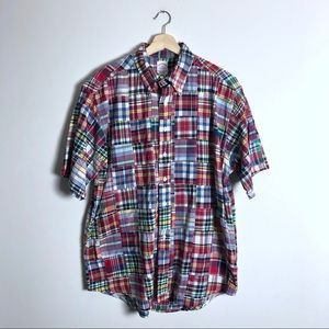 Brooks Brothers multicolor Patchwork shirt